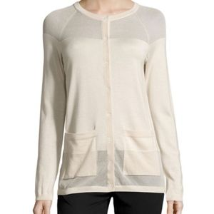 Lafayette 148 New York Cashmere-Blend Long-Sleeve